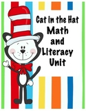Read Across America Cat in Hat Common Core Math & Literacy Unit