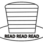 Read Across America Red and White Hat Pattern