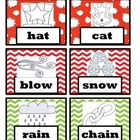 Read Across America Rhyming Cards Matching Game {FREEBIE}