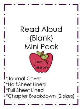 Read Aloud {Blank} Mini Pack