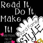 Read It, Do It, Make It { Word Family -AG} FREEBIE