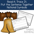 Read It, Trace It, Put the Sentence Together: National Sym
