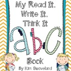 Read It, Write It, Think It!  Alphabet Journal