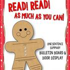 Read! Read! As Much As You Can! {Holiday Bulletin Board Display}