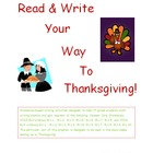 Read &amp; Write Your Way To Thanksgiving