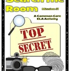 Read & Write the Room: Be a Spy! Nouns, Verbs & Adjectives