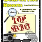 Read & Write the Room: Be a Spy! Syllable Freebie
