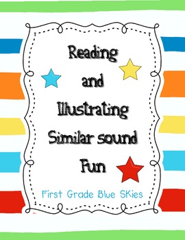 Read and Illustrate Same Sound Fun