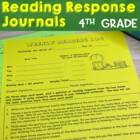 Read and Respond - Reading Response Journal Prompts and Re