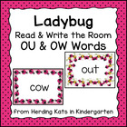 Read and Write the Room with ou/ow Dipthongs