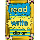Read and write clip art
