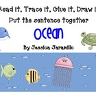 Read it, Trace it, Glue it, Draw it Ocean theme