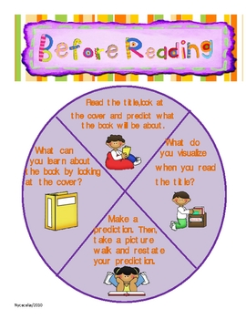 Read to Someone/Buddy Reading Spinners