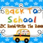 Read/Write The Room {Back To School}