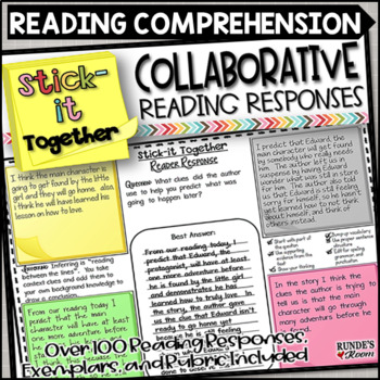 Reader Response Collaborative Activity - Stick-It Together