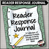 Reader Response Journal:  Questions, Prompts and Assessment