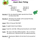 Reader&#039;s Theater ~ Anansi Goes Fishing