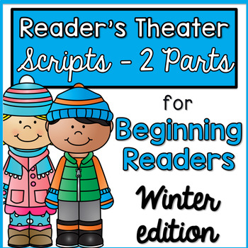 Reader's Theater - Partner Plays for Beginning Readers {Winter Edition}