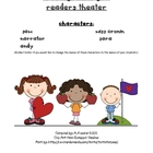 Readers Theater:  Reading Strategies 