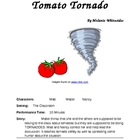Reader&#039;s Theater for Small Groups -- The Tomato Tornado