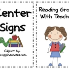 Readers Workshop Center Signs