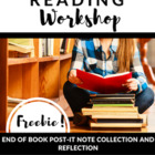 Reader's Workshop Freebie: End of Book Post-It Note Collec