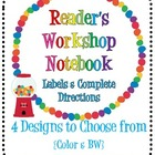 Reader&#039;s Workshop Notebook {Using a Composition Notebook}