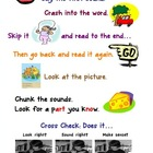 Reading 5 Strategy Poster
