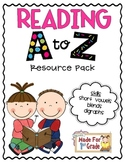 Reading A to Z Resource Pack {Short Vowels}