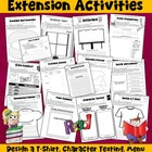 Reading Activities Unit for Any Novel Unit (13 pages)