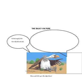 Reading Activity : The Sulky Vulture by Sally Grindley