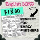 Reading Bingo for Differentiated Instruction/Early Finishers