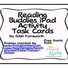 Reading Buddy iPad Task Cards