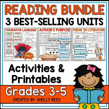 BlackFriday14 Reading Bundle - Theme, Figurative Language,