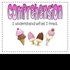 Reading CAFE Header Signs {candy and sweets theme}