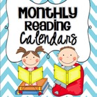 Reading Calendars {Monthly Blank Calendars}