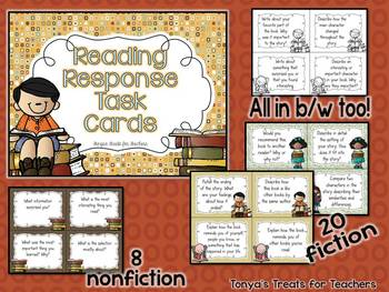 Reading Center Task Cards