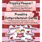 Reading Comp. Valentines, Digging Deeper Into Valentines &