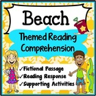 Reading Comprehension 1st Grade (Beach)