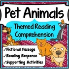 Reading Comprehension 1st Grade (Pets)