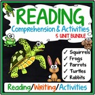 Beginning of the Year Reading Comprehension 3rd Grade (Bundle)