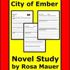"Reading Comprehension  ""City of Ember Book 1"""