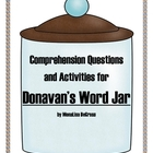 Reading Comprehension: Donavan's Word Jar