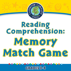 Reading Comprehension: Memory Match Game - MAC Gr. 3-8
