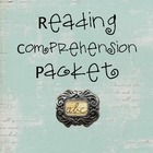 Reading Comprehension Packet for Fiction