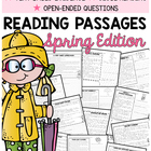 Reading Comprehension Passages {Spring Themed & Common Core}