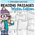 Reading Comprehension Passages {Winter Themed & Common Core}