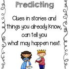 Reading Comprehension Prediction Strategy Poster