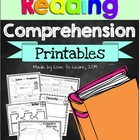 Reading Comprehension Printables for any Picture Book