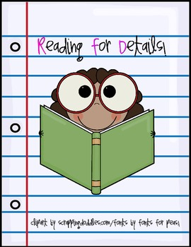 Reading Comprehension ( Reading for Details! PLEASE RATE! : )